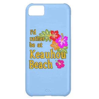 Ich würde eher an Keauhou Strand, Hawaii sein iPhone 5C Hülle