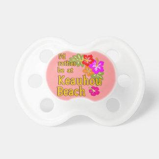Ich würde eher an Keauhou Strand Hawaii sein Schnuller