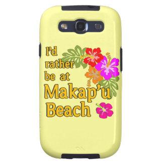 Ich würde eher an Makap u Strand Hawaii sein Galaxy S3 Schutzhüllen