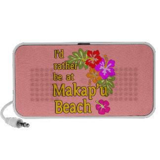 Ich würde eher an Makap'u Strand, Hawaii sein Tragbare Speaker