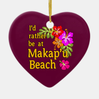 Ich würde eher an Makap'u Strand, Hawaii sein Ornament
