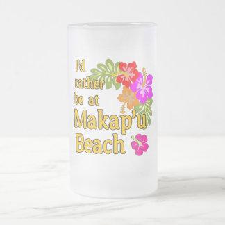 Ich würde eher an Makap'u Strand, Hawaii sein Kaffeetassen