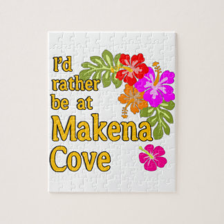 Ich würde eher an Makena Bucht Hawaii sein Jigsaw Puzzles