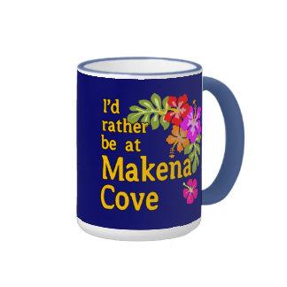Ich würde eher an Makena Bucht Hawaii sein Kaffeetasse