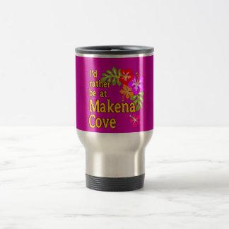 Ich würde eher an Makena Bucht Hawaii sein Kaffee Haferl