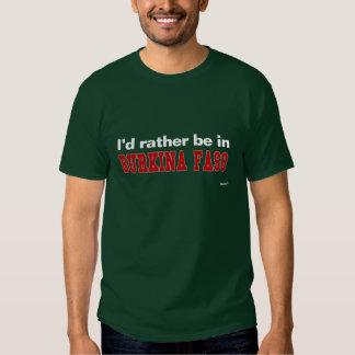 Ich würde eher auf Burkina Faso sein Shirts