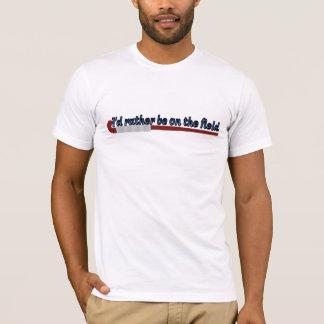 Ich würde eher auf dem T - Shirt des Feld-(Hockey)