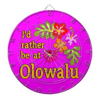 Ich würde eher bei Olowalu Hawaii sein Dartscheiben