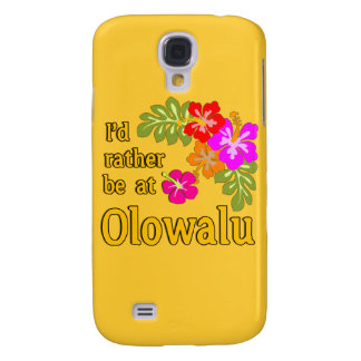 Ich würde eher bei Olowalu Hawaii sein Galaxy S4 Hülle