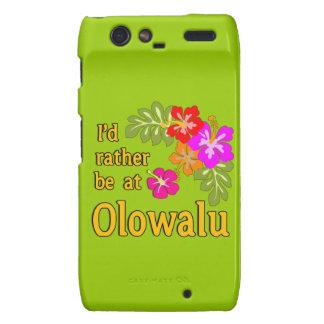 Ich würde eher bei Olowalu Hawaii sein Droid RAZR Cover