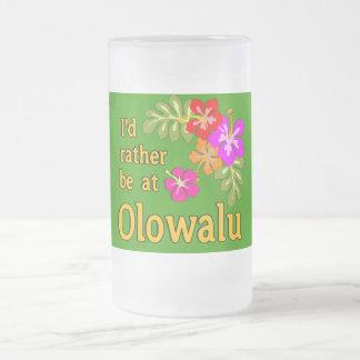 Ich würde eher bei Olowalu Hawaii sein Matte Glastasse