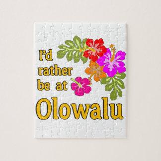Ich würde eher bei Olowalu Hawaii sein Puzzle