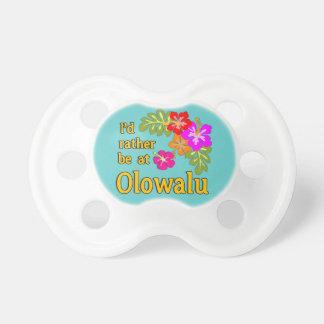 Ich würde eher bei Olowalu Hawaii sein Baby Schnuller