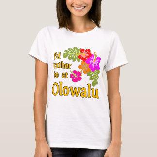 Ich würde eher bei Olowalu Hawaii sein T-Shirt