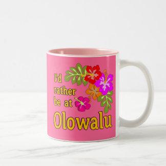 Ich würde eher bei Olowalu Hawaii sein Zweifarbige Tasse