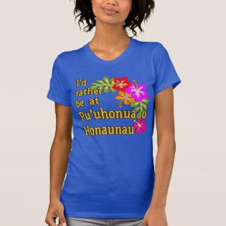Ich würde eher bei Pu'uhonua O Honaunau, Hawaii T-Shirt