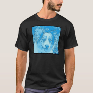 Ich würde eher blau sein T-Shirt