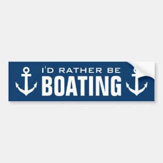 Ich würde eher BootfahrtseeAutoaufkleber sein Autoaufkleber