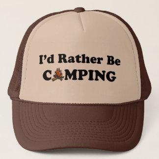 Ich würde eher Campings-Lagerfeuer-Hut sein Truckerkappe