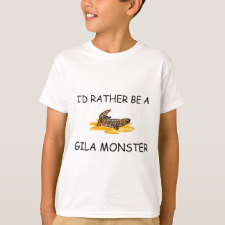 Ich würde eher eine Gila-Krustenechse sein T-Shirt