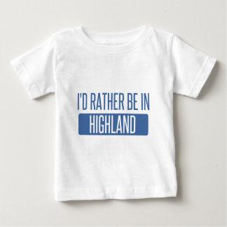 Ich würde eher im Hochland sein Baby T-shirt