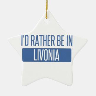 Ich würde eher im Livonia sein Keramik Ornament