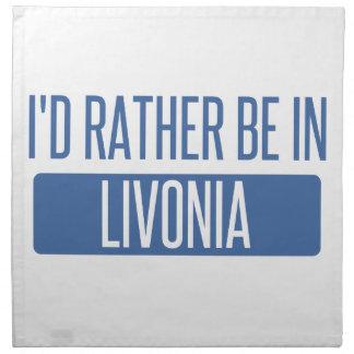 Ich würde eher im Livonia sein Stoffserviette