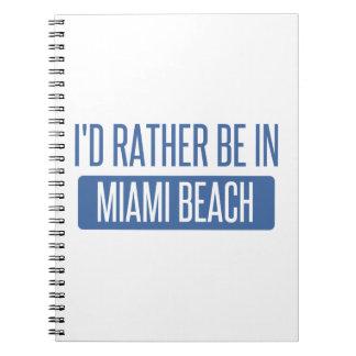 Ich würde eher im Miami Beach sein Spiral Notizblock