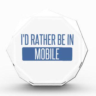 Ich würde eher im Mobile sein Auszeichnung