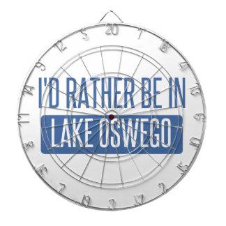 Ich würde eher im See Oswego sein Dartscheibe