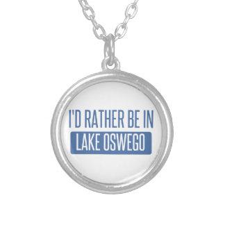 Ich würde eher im See Oswego sein Versilberte Kette
