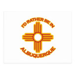 Ich würde eher in Albuquerque sein Postkarten