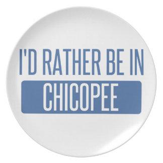 Ich würde eher in Chicopee sein Teller