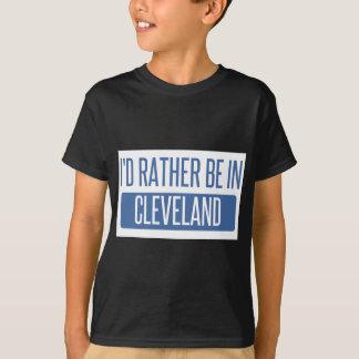 Ich würde eher in Cleveland OH- sein T-Shirt