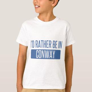 Ich würde eher in Conway sein T-Shirt