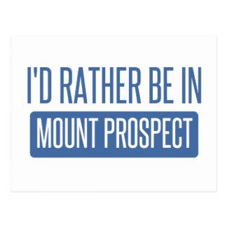 Ich würde eher in der Berg-Aussicht sein Postkarte