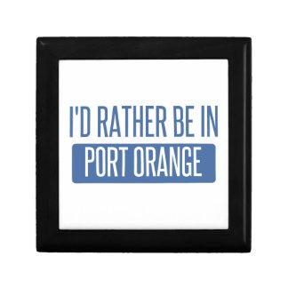 Ich würde eher in der Hafen-Orange sein Geschenkbox