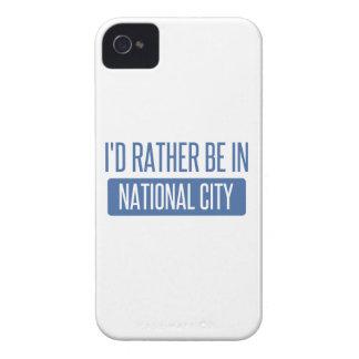 Ich würde eher in der nationalen Stadt sein Case-Mate iPhone 4 Hülle