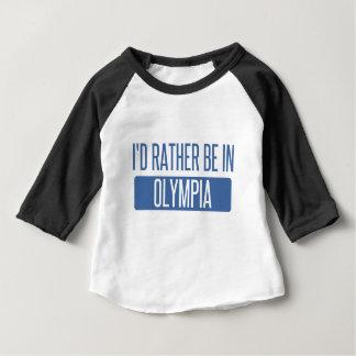 Ich würde eher in der Olympia sein Baby T-shirt