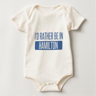 Ich würde eher in Hamilton sein Baby Strampler