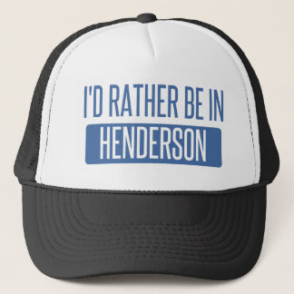 Ich würde eher in Henderson sein Truckerkappe