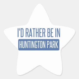 Ich würde eher in Huntington-Park sein Stern-Aufkleber
