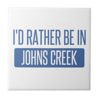 Ich würde eher in Johns-Nebenfluss sein Keramikfliese