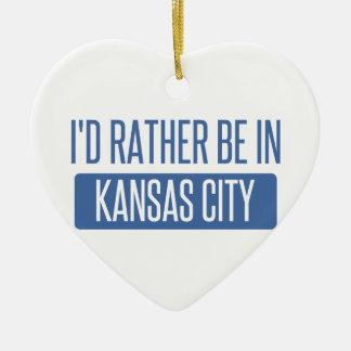 Ich würde eher in Kansas City MO sein Keramik Ornament