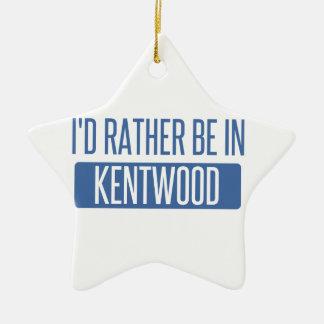 Ich würde eher in Kentwood sein Keramik Ornament