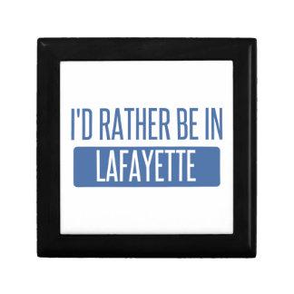 Ich würde eher in Lafayette-LA sein Geschenkbox