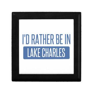 Ich würde eher in Lake Charles sein Geschenkbox