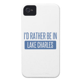 Ich würde eher in Lake Charles sein iPhone 4 Case-Mate Hülle