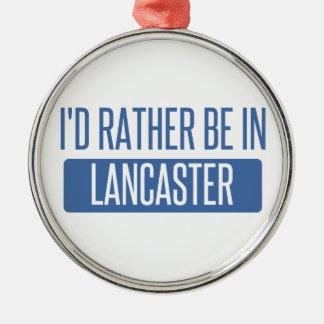 Ich würde eher in Lancaster OH- sein Silbernes Ornament