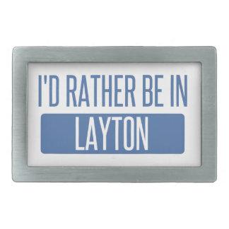 Ich würde eher in Layton sein Rechteckige Gürtelschnallen
